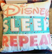 "Disney ""Sleep Repeat"" throw pillow from ShopDisney"