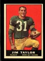 1961 TOPPS #41 JIM TAYLOR VGEX PACKERS HOF *SBA1621