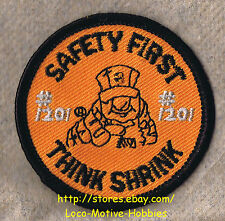 LMH PATCH Badge  HOME DEPOT Store 1201 SAFETY FIRST THINK SHRING Certified NY 2""