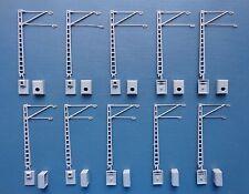 Hobbex oh101 h0 catenaria, 10 streckenmaste (brazo corto), DB-Dr-ÖBB