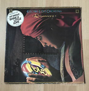 LP Electric Light Orchestra  Discovery JETLX 500 1979  ELO