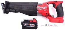 Milwaukee FUEL 2720-20 18V Reciprocating Saw Sawzall, (1) 48-11-1850 Battery M18