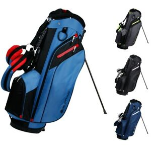 Orlimar Golf SRX 7.4 Golf Stand Carry Bag Navy Black Blue Charcoal 7-way Top NEW