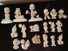 Vintage Precious Moments Figurines & Ornaments 18 Pieces (1983-1993)