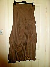 Nadia Ivanova Stunning Couture Flamenco 100% Wool Skirt UK 14