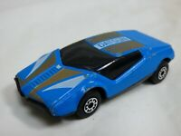 Vintage 1985 Matchbox BR 5 6 Datsun Super GT Blue Diecast Model Toy Racing Car