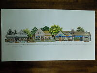 Main Street Chatham Cape Cod Lithograph Limited Edition Artist Signed #2