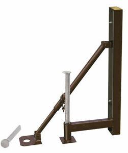 20x Müba Abschalstütze inkl. je 2 Stk. Erdnägel, Schalung Bodenplatte Stützmauer