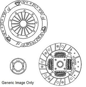 Clutch Kit 3pc (Cover+Plate+Releaser) fits OPEL ASTRA F 1.6 91 to 05 Manual NAP