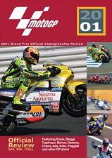 MotoGP - Bike  World Championship Grand Prix - Official review 2001 (New DVD)