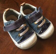 See Kai Run Toddler Baby size 4 Denim Tennis Shoes Blue