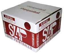 Shop4Paintball - BLOOD BALL - .68 Caliber Paintballs - Red/Red - Case of 2000