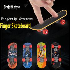 Mini Finger Skateboard Tech Deck Bearing Wheel Fingerboard Boys Birthday Gift