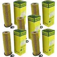 5x MANN-FILTER Ölfilter Oelfilter HU 514 x Oil Filter