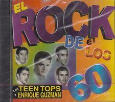 Los Teen Tops y Enrique Guzman El Rock De Los 60 CD New Sealed