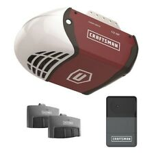 Craftsman 1/2 HP Chain Drive Garage Door Opener System w/ 2 Remotes & Rail