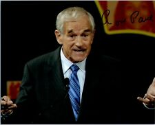 "RON PAUL ""House of Representatives"" Signed Autographed 8x10 Pic."
