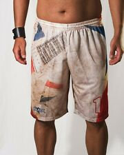 Footex Pantaloncini Beach Volley Guitar Tennis Mare Sublimatici Padel