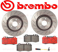 BREMBO Front Brake Kit Mercedes C240 C280 C320 CLK350 SLK350 with Sport Package