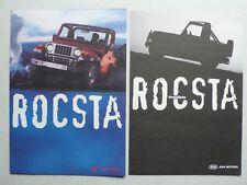 Prospekt asia motors rocsta, 2.1995, 6 páginas, Folder + lista de precios