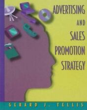 Advertising and Sales Promotion Strategy by Tellis, Gerard J., Good Book