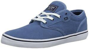 Chaussures de Skate GLOBE Motley Délavé Bleu Homme Baskets Schuhe