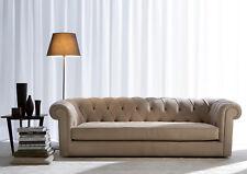 Sofagarnitur Polster Couch Sofa Klassik Chesterfield 3 Sitzer Sofas Washington