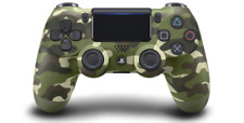 Sony DualShock 4 Wireless Controller Playstation 4 Green Camouflage - VG - GST2