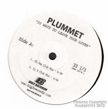 2005 Plummet Trance 12 inch DJ Single (50 Ways to Leave Your Lover)