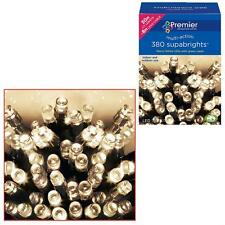 Premier 380 Supabrights LED Christmas Multi-action Lights - Warm White