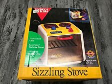 Vintage Today's Kids Sizzling Stove Brand New in the Box Toy 1992 USA