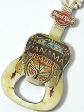 HARD ROCK CAFE HOTEL *** PANAMA  MEGAPOLIS *** GUITAR BOTTLE OPENER MAGNET~ WOW!