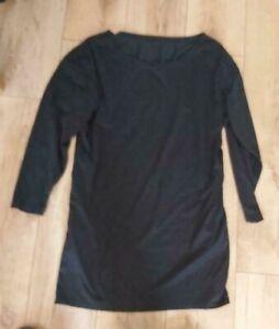 Ladies 'SHEIN' Black long sleeve Jumper dress. Size L. vgc.