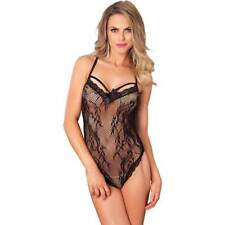 Leg Avenue Body red de encaje negro