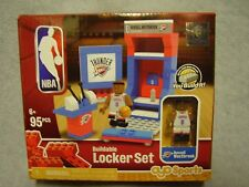 Oklahoma City Thunder RUSSELL WESTBROOK Buildable NBA Lego Locker Set 95 Pieces