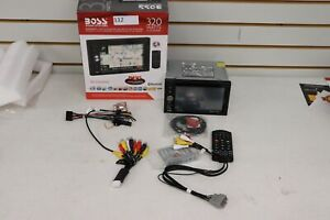 Parts Repair Boss BV9384NV Double-DIN DVD Player 6.2  Touch Navigation Bluetooth