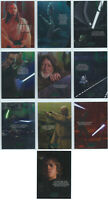 2015 Star Wars Chrome Perspectives Jedi vs Sith Training 10 Card Insert Set