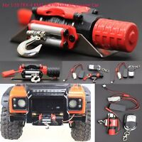 For 1/10 TRX-4 KM2 SCX10 D90 RC Crawler Car Winch Remote Control Receiver VS99