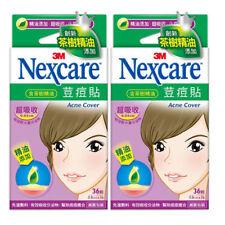 [NEXCARE] 3M Acne Dressing Pimple Tea Tree Oil Treatment Patch SMALL 72pcs NEW
