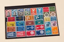 EB127 / Europa Cept Holland ab 1956 bis 1992, postfrisch, kpl. Mi. 95,70