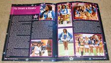 FEBRUARY 2012 DALLAS COWBOYS Magazine SEXY PRO BOWL CHEERLEADER ALLY TRAYLOR