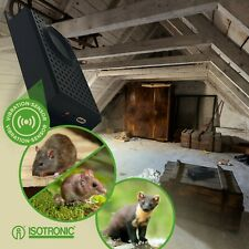 ISOTRONIC Anti-fouine Lampe-Torche Ultrasons Contre Martre Ratten Souris Mobile