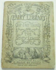 1853 Hop O My Thumb and The Seven League Boots GEORGE CRUIKSHANK Fairy Library