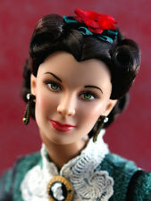 Christmas 1863 Gone with the Wind Scarlette O'Hara Vivian Leigh Sculpt Tonner NU