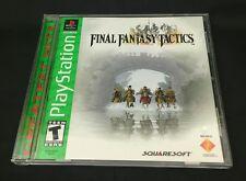Final Fantasy Tactics Sony PlayStation 1