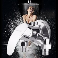 Shower Head Bath Valve Faucet Hot & Cold Water Single Handle Mixer Tap Bathroom