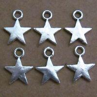 20pc Retro Tibetan Silver DOG Charm Beads Pendant Findings wholesale JP529