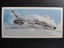 No.19 NORTH AMERICAN YF-100C SUPER SABRE Wings of Speed by Lyons Tea 1961