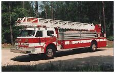 Aerial Ladder 1, Fire Department, Conroe, Texas