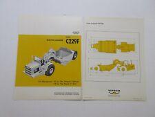 Rare Wabco C229f Tractor Scraper Sales Brochure 1967